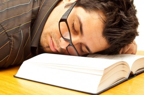 Some people find the Bible so boring it puts them to sleep.