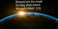 The Meek Are Not Weak But Gentle and Blessed