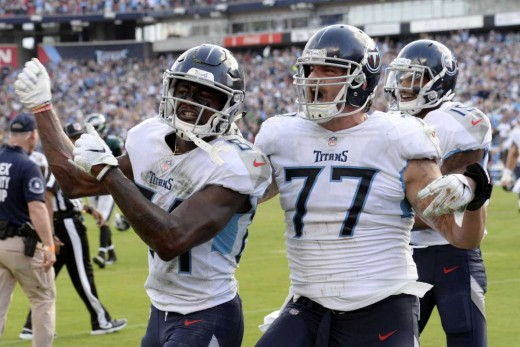 The Titans continue to shock the world and have fun doing it. This time defeating the defending Superbowl Champs on the road.