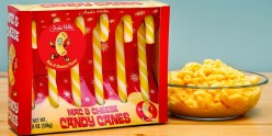 Mac and Cheese Flavored Candy Canes Get Mixed Reviews