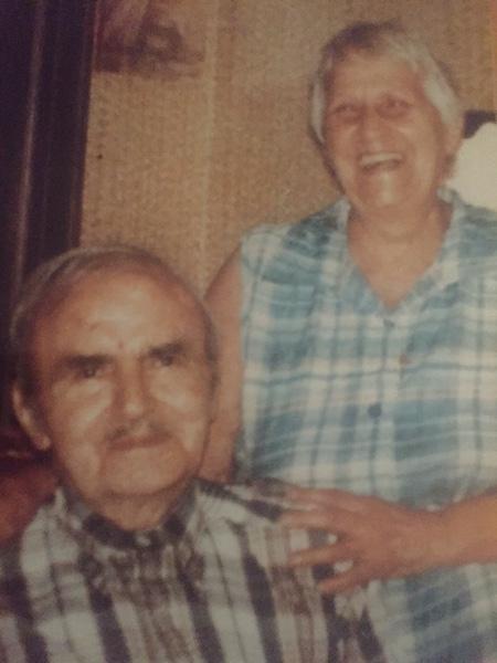 Grandpa, the originator, and Grandma, circa 1978.