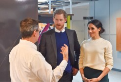 Prince Harry, Duke of Sussex and Meghan Markle, Duchess of Sussex Visit Sussex for First Time