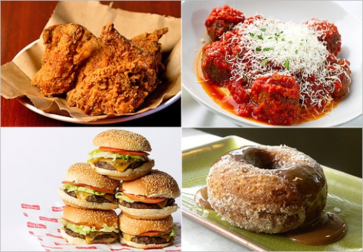 Comfort food, different things for different people
