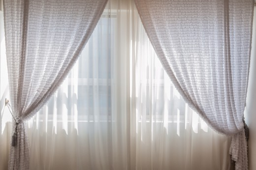 Curtains and drapes can be simple, romantic, functional, fun, or formal. Curtains and drapes conclude the decor of the room.