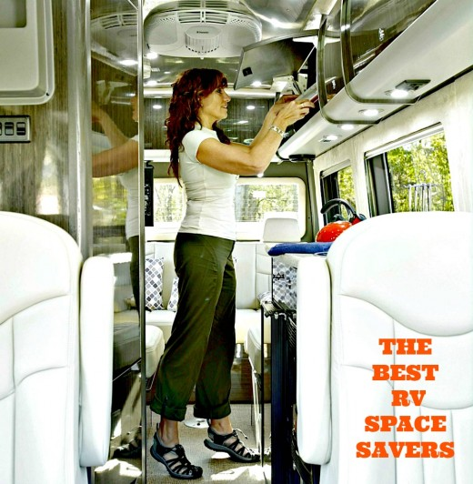 RV items that save space and reduce weight.