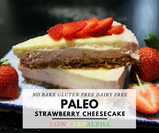 Delicious no bake cheesecake