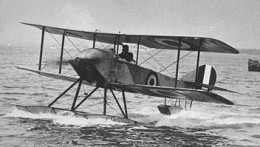 Sopwith Schneider Aircraft - one of the types of planes Henry Allingham worked on and kept in flying condition during WWI. (Source:  Public domain photo courtesy of WikiPedia Commons)