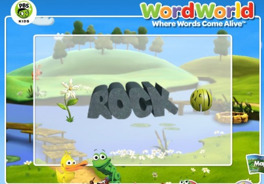 WordWorld Reading Games and Adventures