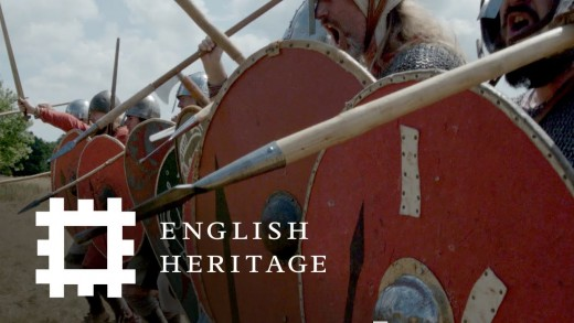 The English Heritage event of the 952nd year since Harold's shieldwall blocked William's advance from 'Terce' (9 am prayers) until dusk on Saturday, 14th October, 1066