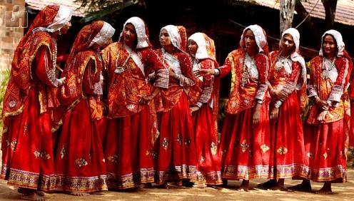 Traditional Garba Dance Dress