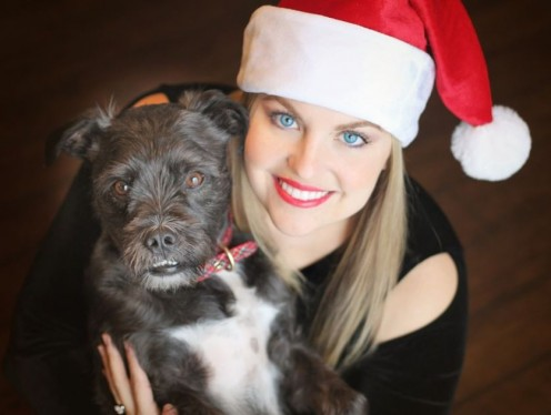 Let your dog form positive associations around people wearing hats.
