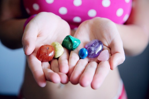 The rocks you collect, if you decide to do so, do not have to be perfect. As long as you like them, that's all that matters!