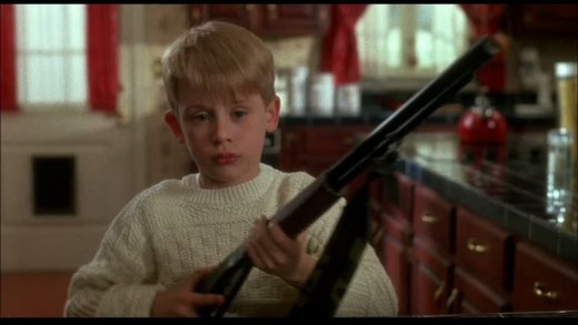 'Home Alone' is a gritty action thriller that sees a kid defend his home from violent... ok, I'm kidding.