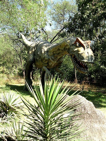 T-Rex in Indroda Park