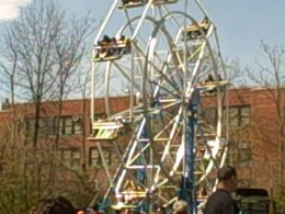 One of the many attractions at the carnival. Several foster children in group homes attended.