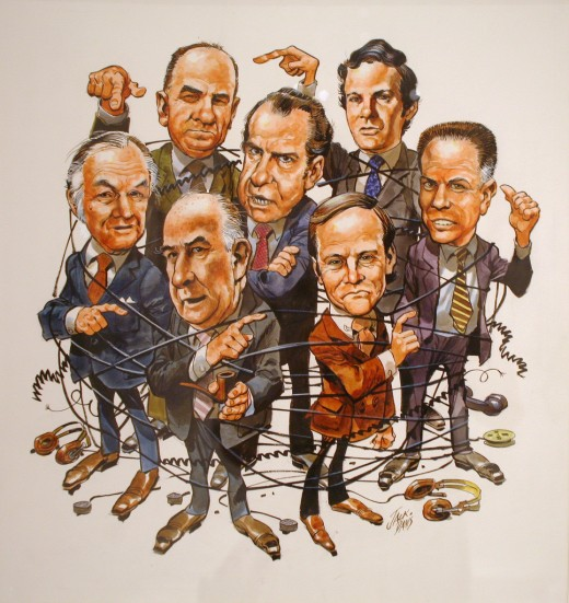 "Richard Nixon, Time cover April 30, 1973, ""The Watergate Scandal"