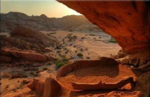 Namib landscape by D Woollacott