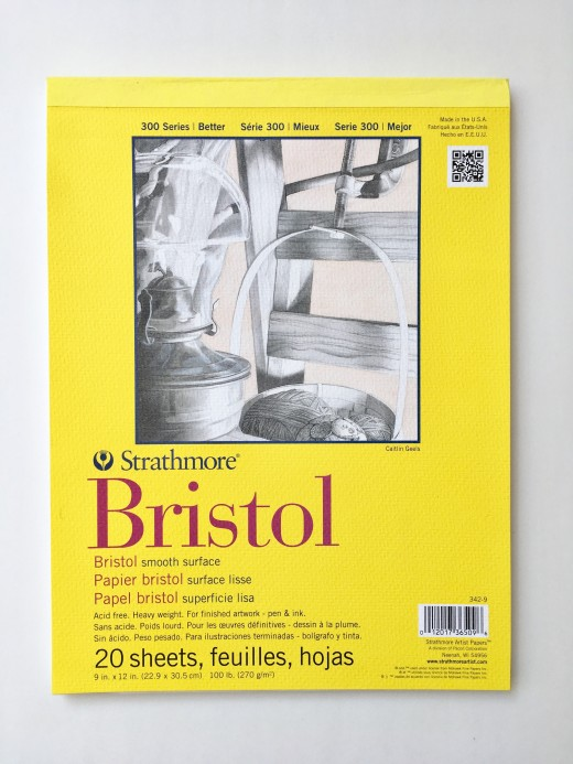 Strathmore 300 Bristol Paper Smooth Surface