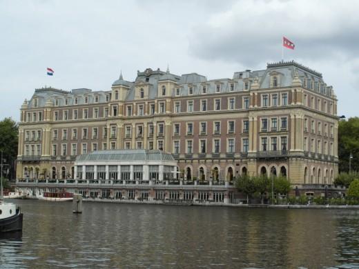 InterContinental Amstel Hotel, Amsterdam.