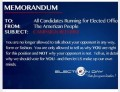 Elections Voting and Other Misconceptions