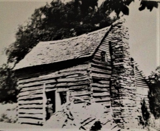 The Tower cabin on Gaither Mountain near Harrison, Arkansas. The homeplace.