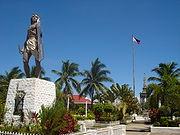 Lapu-Lapu Shrine in Cebu City (http://en.wikipedia.org/wiki/Lapu_Lapu_shrine)