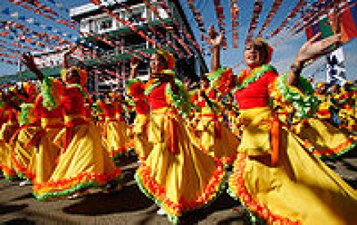 The Hermosa Festival in Zamboanga City (http://en.wikipedia.org/wiki/Zamboanga_City)