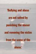 Handling Bullying or Abuse