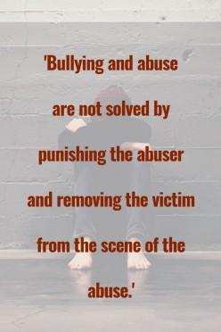 Handling Bullying or Abuse