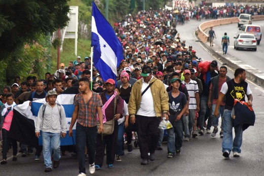 """How many of these """"Honduran"""" migrants are MS13, Criminals, Drug Cartel mules, diseased, and who is funding their march?"""