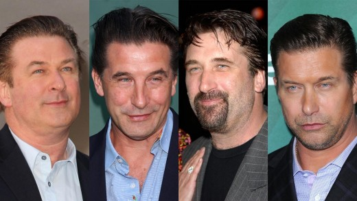 Four Baldwin Brothers Are Actors Alec Daniel William And Stephen