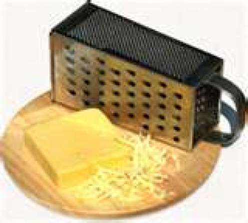 Grated Cheese & Sauce Make a Great Team