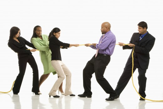 "Stop playing the game of ""Tug of War"" with your possibilities. Experience a couple until you find the right fit!"