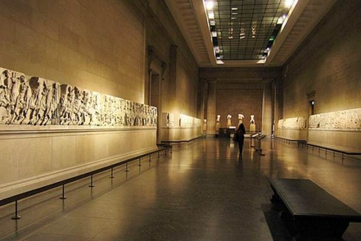 Elgin Marbles from Ancient Greece