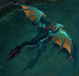 Ocean Drake: Bonus missing health and mana regen