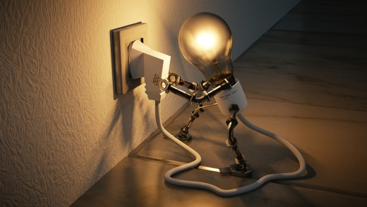 Plug in your brain and start thinking creatively.