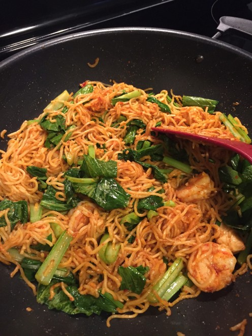 How to Make Malaysian-Style Spicy Fried Noodles (Mie Goreng)