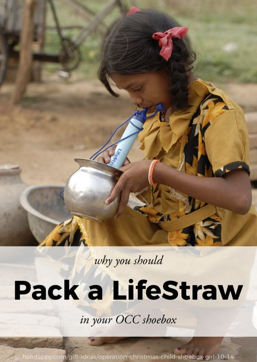Why a Life Straw is a must-have for your Operation Christmas Child shoebox.
