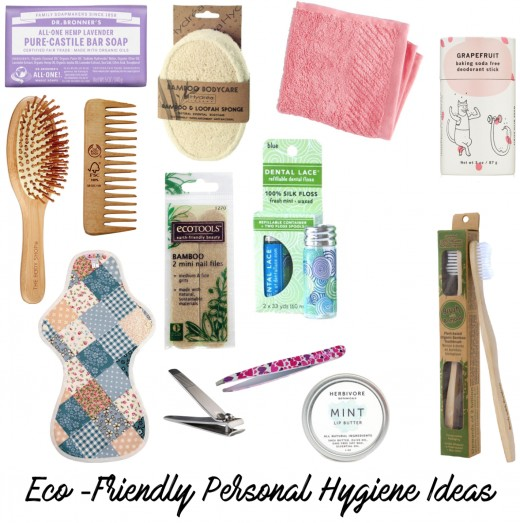 Earth-conscious personal hygiene products for your shoebox.