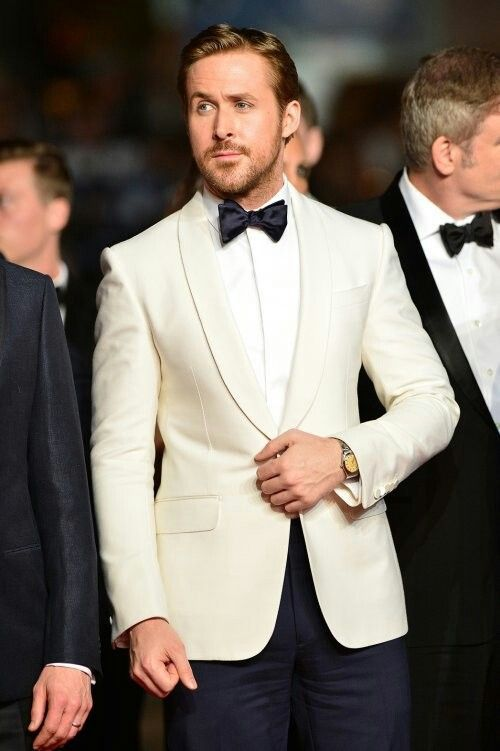 It's the white dinner jacket, made famous by James Bond--and it's unique and classy!