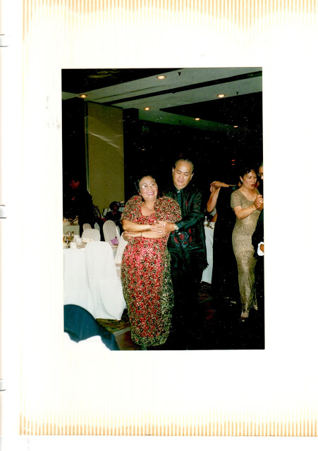 Macrine and I dancing the Tango, 1999