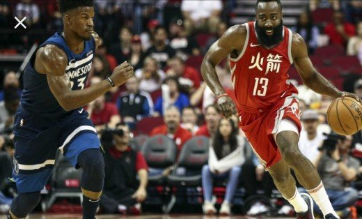 Jimmy Butler may be joining the Houston Rockets and James Harden after recent trade rumors