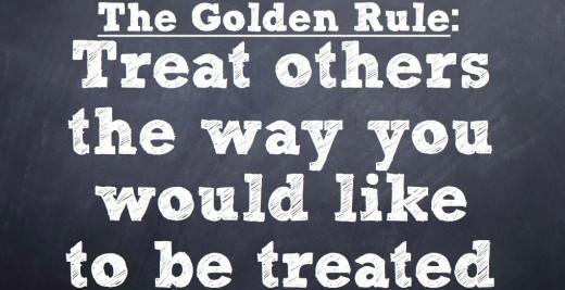 Live by the golden rule, even when you are selling horses!
