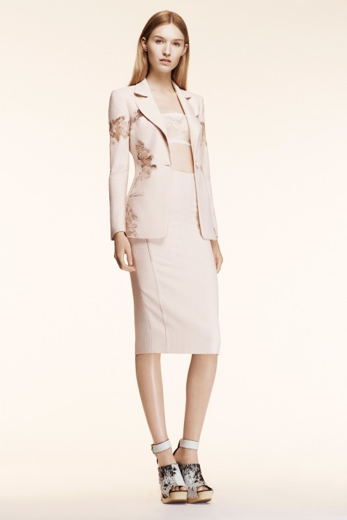 Nude hues are flattering on virtually everyone.
