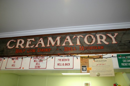 Look for Screams Creamatory, Holy Cow Dairy!