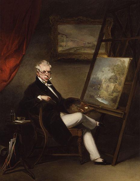 George Chinnery Self-Portrait - circa 1840