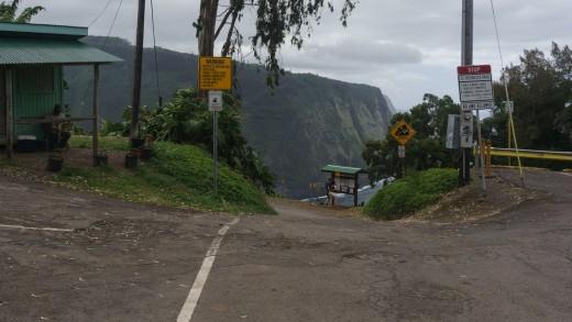 Waipio Valley Road