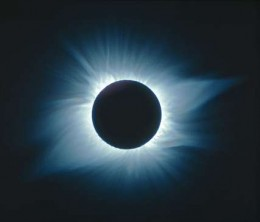 Total solar eclipse, the image is from astromony.com