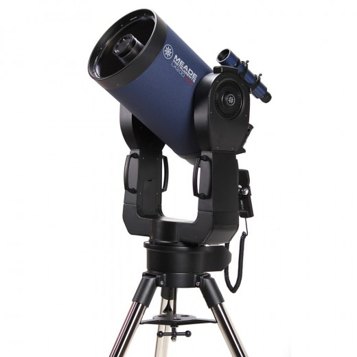 A GOTO telescope on a fork AZ mount.