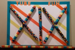 Recycled Paper Towel Rolls: Tube Toy